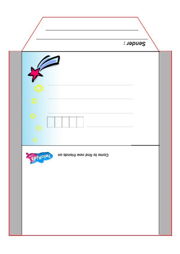 Fairy envelope