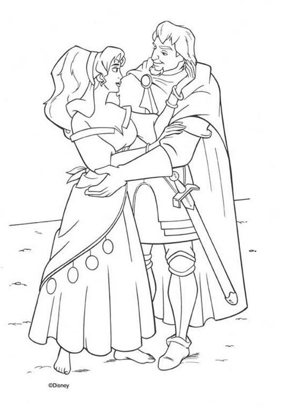 The Hunchback of Notre Dame coloring book pages ...