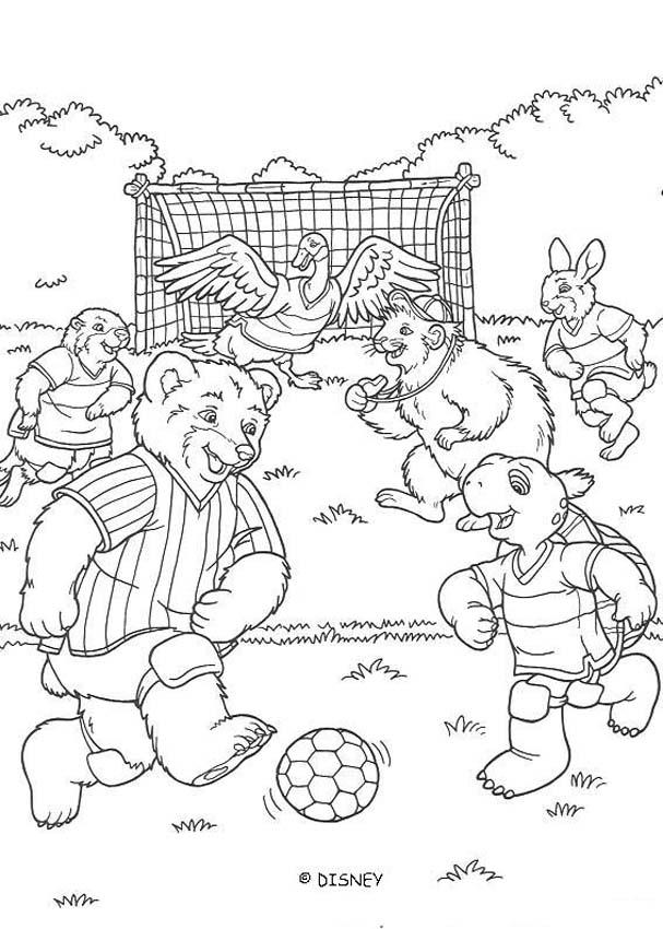 Football game coloring pages Hellokidscom