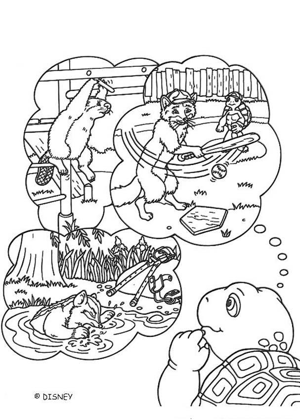 franklin and friends coloring pages | Franklin and friends coloring pages - Hellokids.com