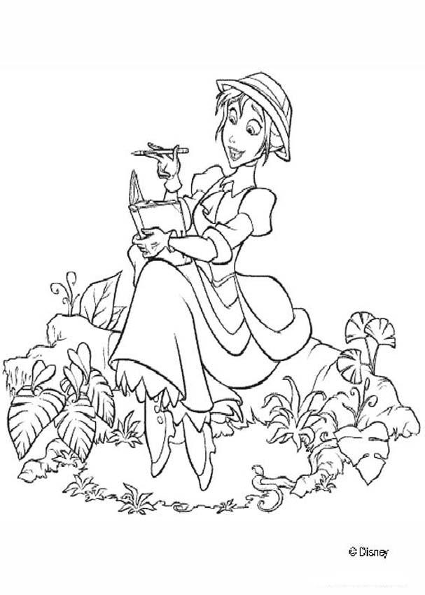 jane 1 coloring page