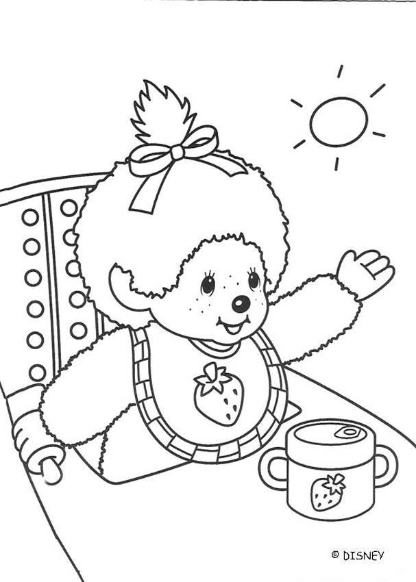 monchichi coloring pages - photo#1