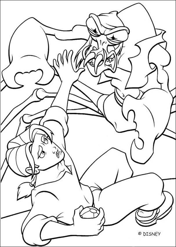 Treasure planet 15 coloring pages Hellokidscom