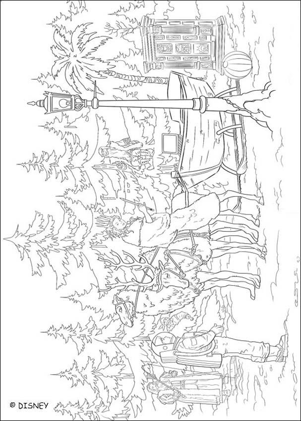 THE CHRONICLES OF NARNIA coloring book pages - White Witch ...