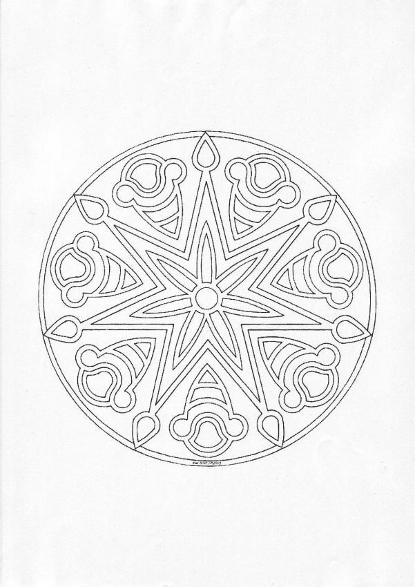 Mandala A worksheet