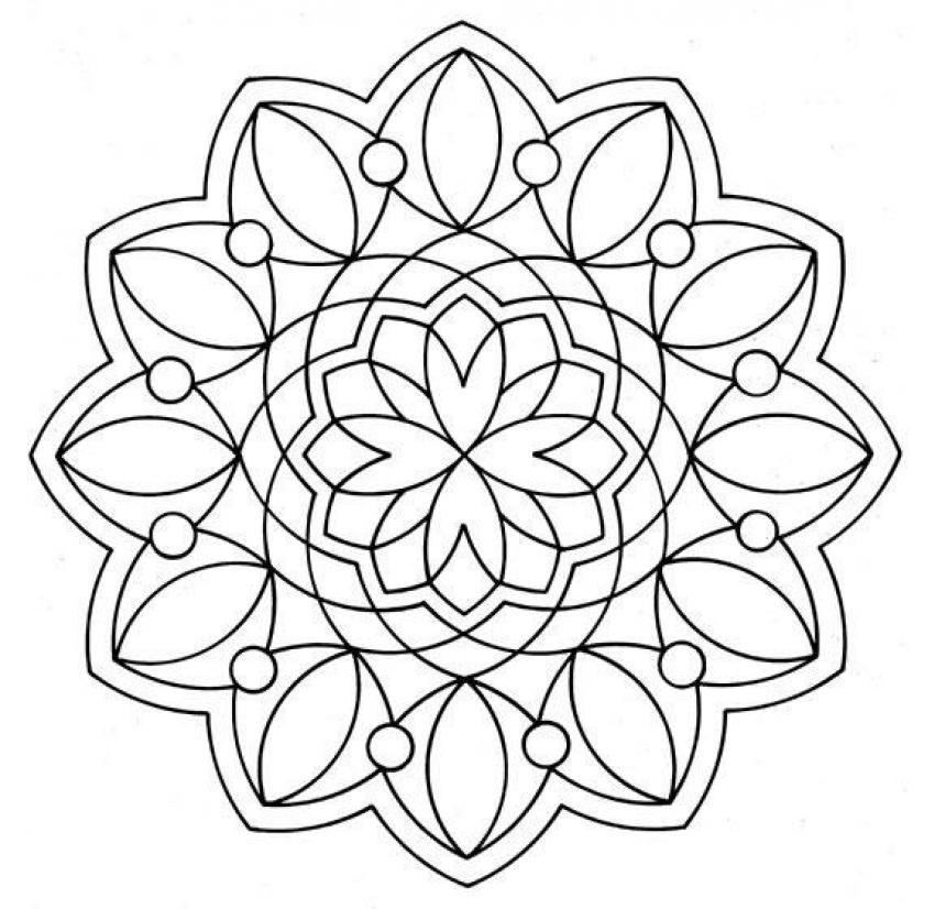 Mandala I worksheet