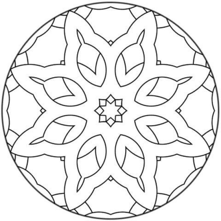 Mandalas for BEGINNERS - Mandala 15