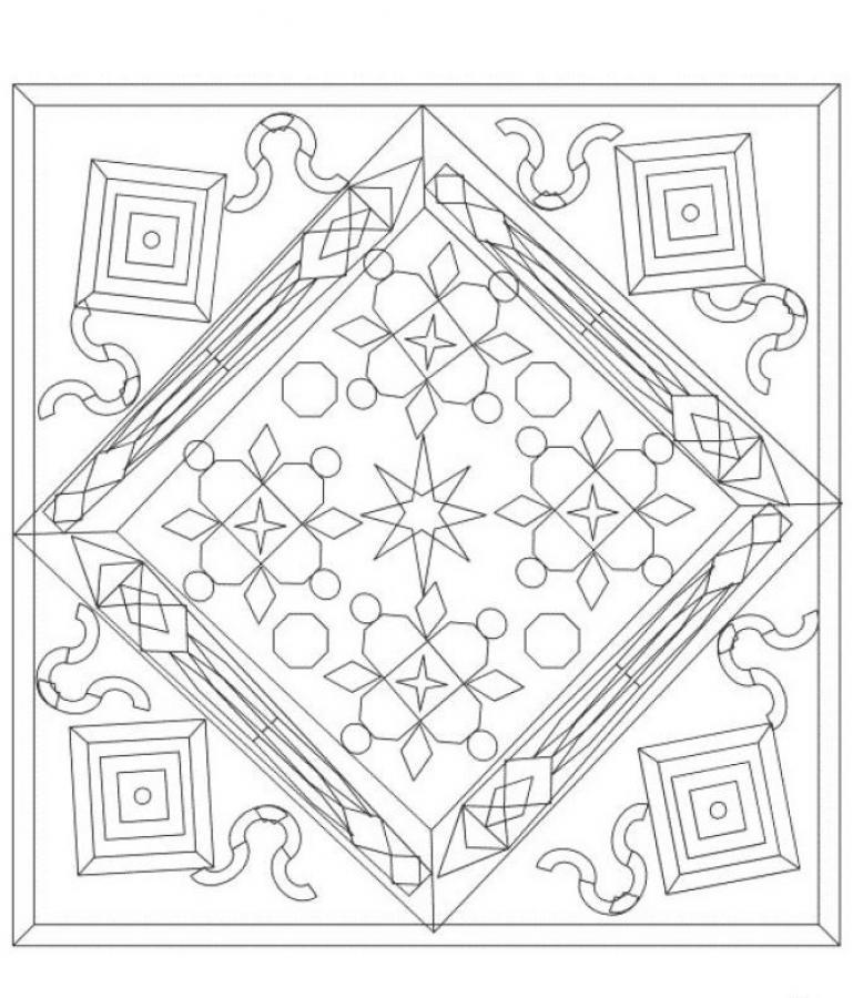 Mandala  3 worksheet
