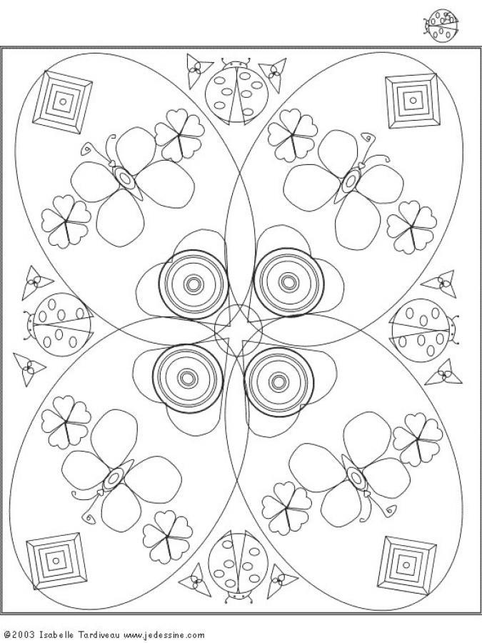 Mandala  6 worksheet