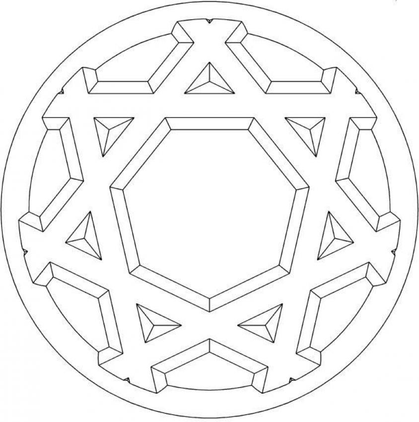 Mandala 8 coloring pages for Mandala coloring pages for beginners