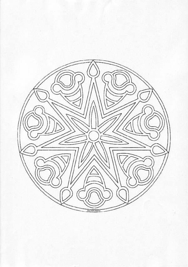 Mandala L worksheet