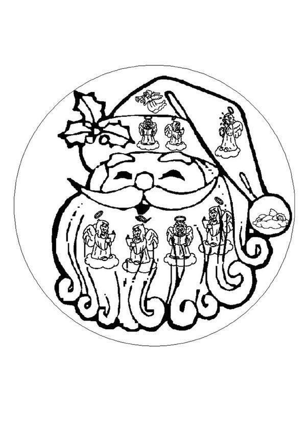 Mandalas for beginners mandala 115 for Mandala coloring pages for beginners