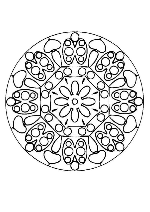 Mandala BBB worksheet