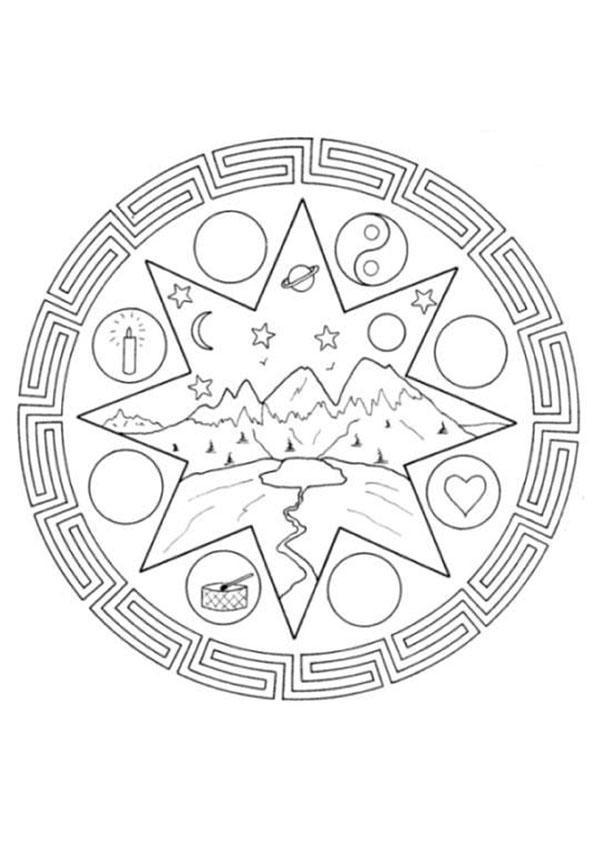 Mandala EEE worksheet