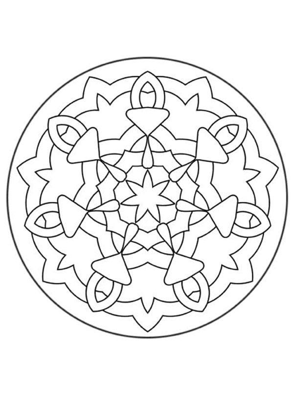 Mandala FFF worksheet