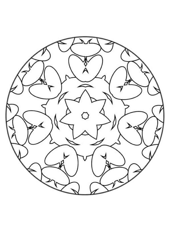 Mandala III worksheet