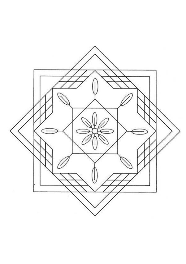 Mandala JJJ worksheet