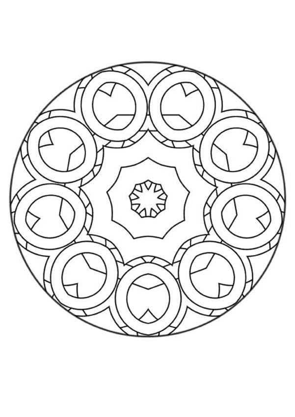 Mandala NNN worksheet