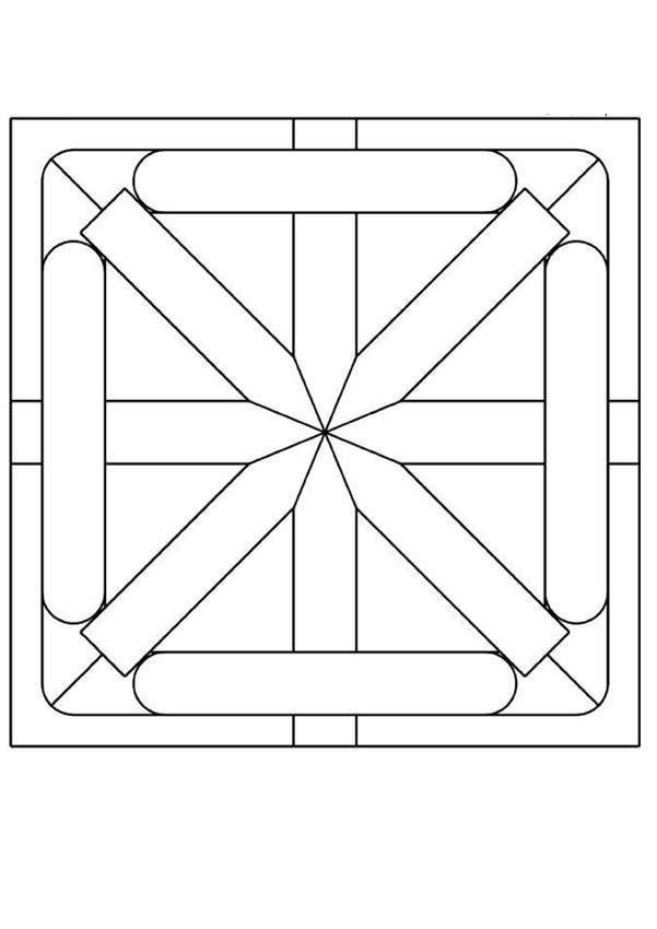 Star Mandala worksheet