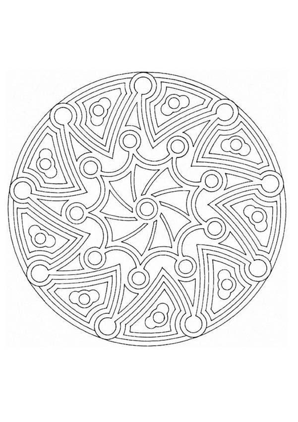 Mandalas For Experts Mandala 167 Expert Mandala Coloring Pages