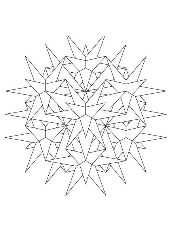 Mandala 23 coloring pages Hellokids