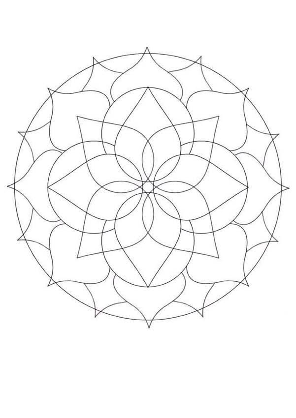 Mandalas for BEGINNERS - Mandala 32
