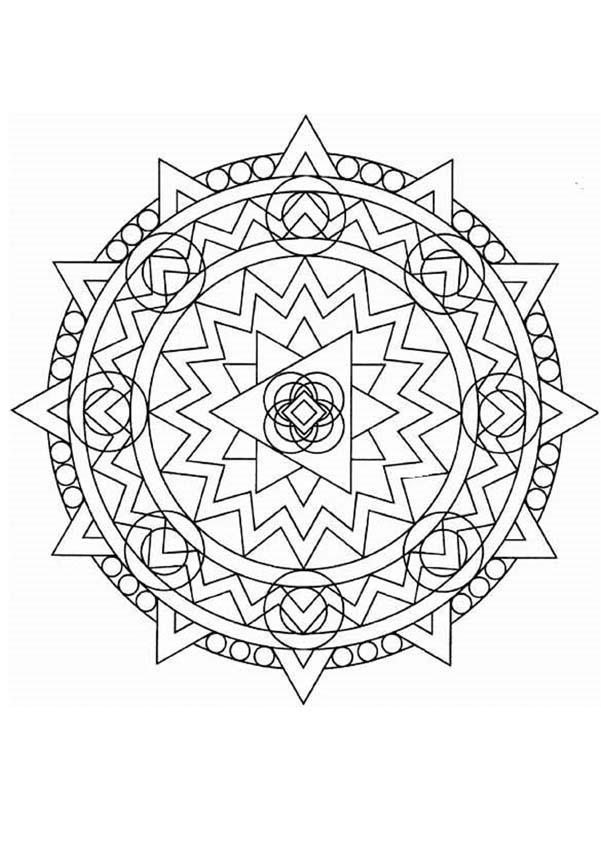 Mandalas for EXPERTS - Mandala 37