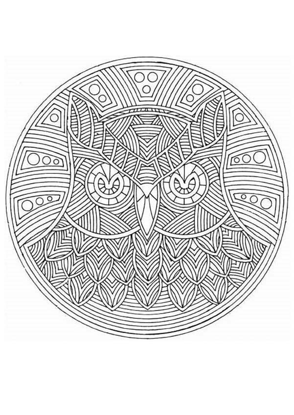 Mandalas For Experts Mandala 40 Expert Mandala Coloring Pages