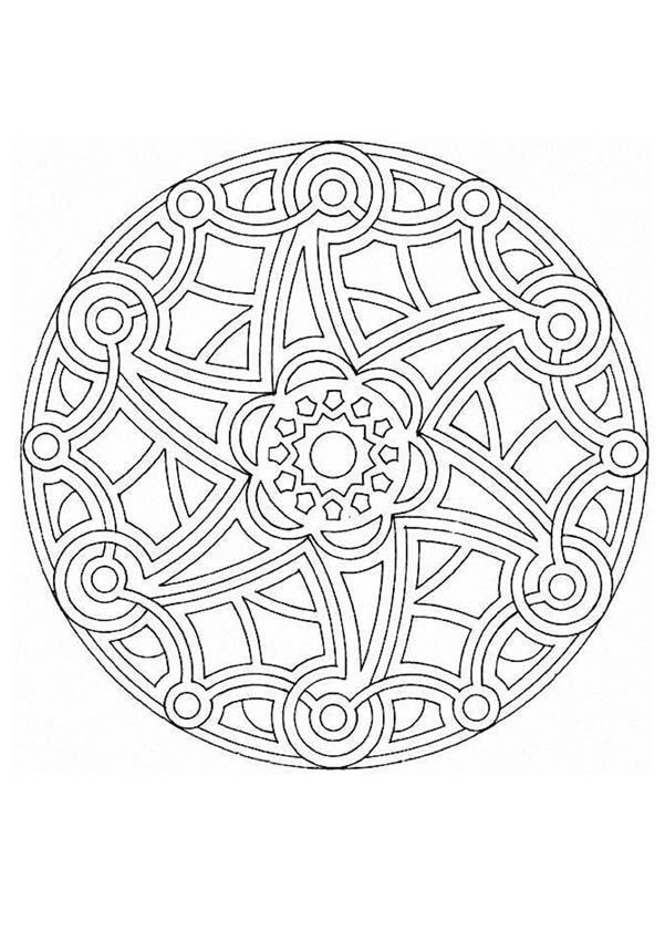 Mandalas For Experts Mandala 45 Expert Mandala Coloring Pages