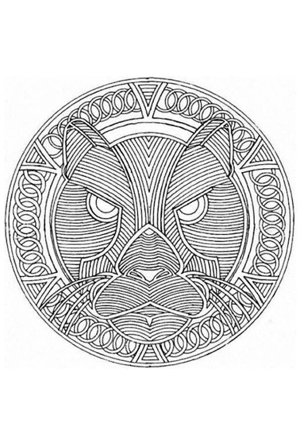 Mandalas For Experts Mandala 55 Expert Mandala Coloring Pages