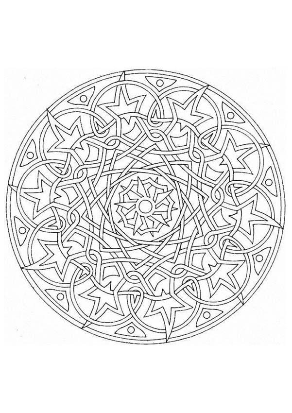 Expert Mandala Coloring Pages Expert Mandala Coloring Pages