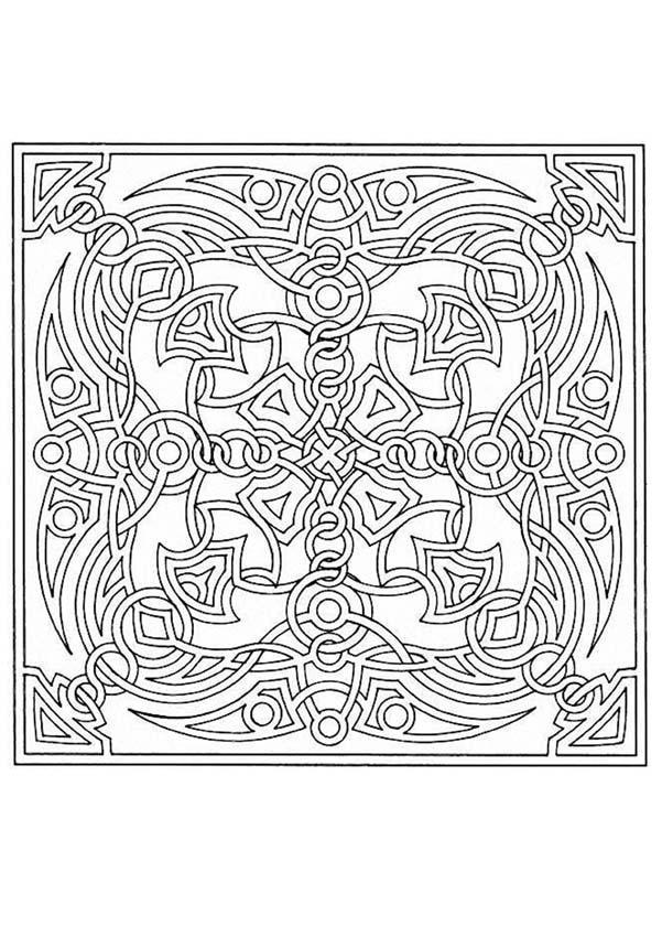 Mandalas For Experts Mandala 71