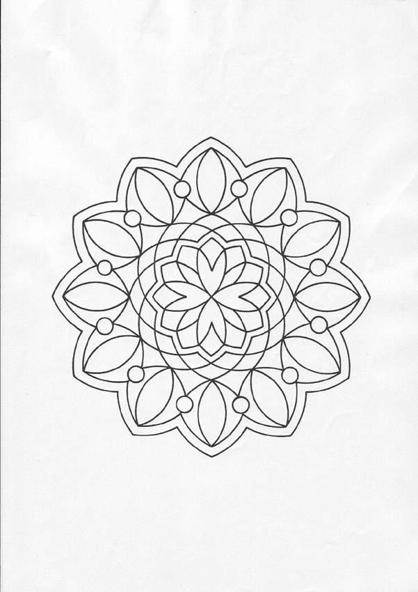 Mandala 81 coloring pages for Mandala coloring pages for beginners