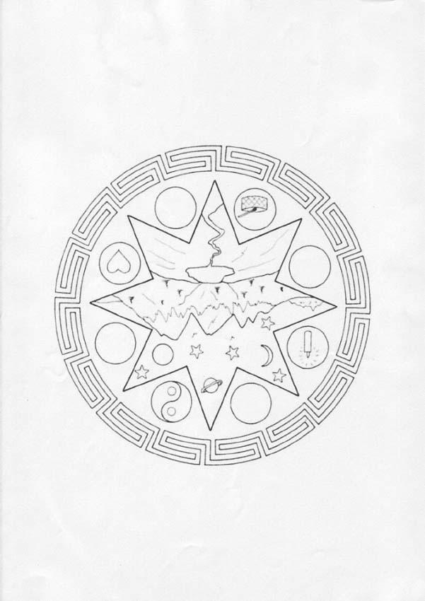 Mandala  HH worksheet