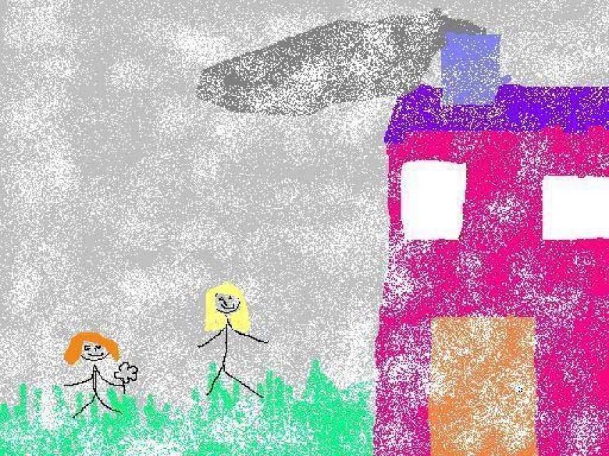 Mama´s house drawing