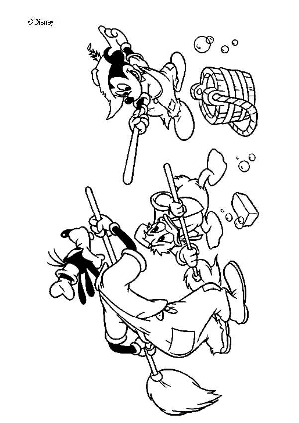 Mickey Mouse Coloring Pages Mickey Mouse And His Friends And His Friends Coloring Pages