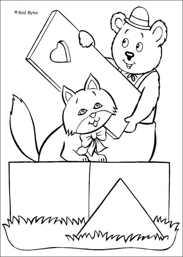Noddy 23 coloring page