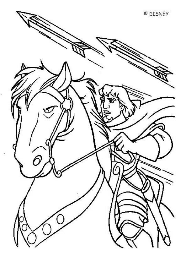 Phoebus to the rescue coloring