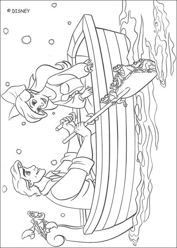ariel and eric coloring pages - the little mermaid coloring pages ariel and eric