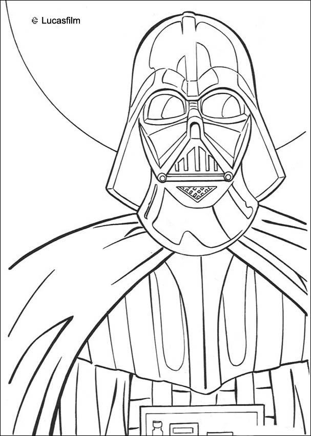 Darth vader coloring pages - Hellokids.com
