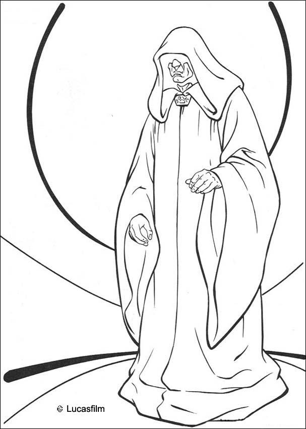 The Sith Lord coloring page