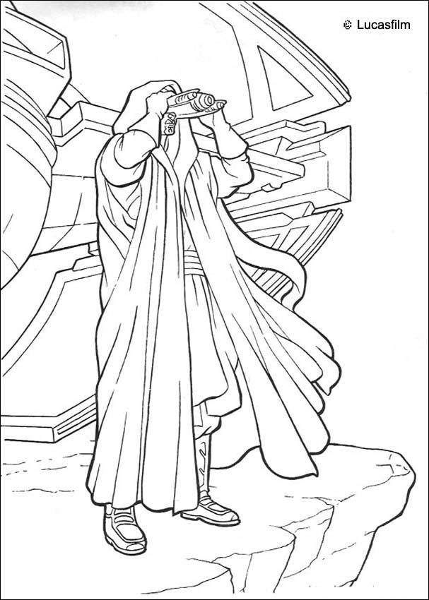 Darth Maul the Sith coloring page