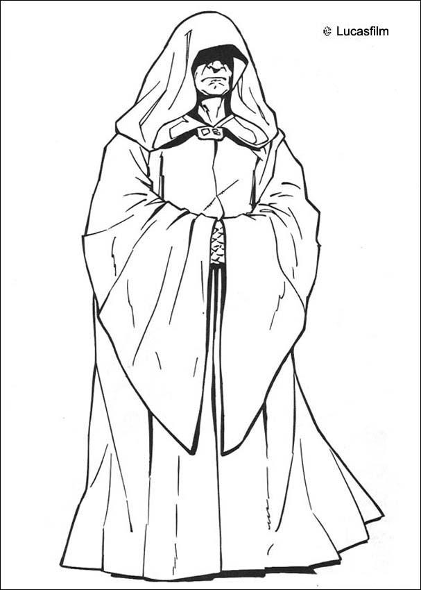 Come to the dark side coloring page
