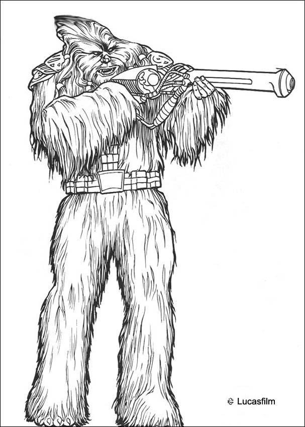 Star Wars Battle Droids Coloring Pages Hellokids Com