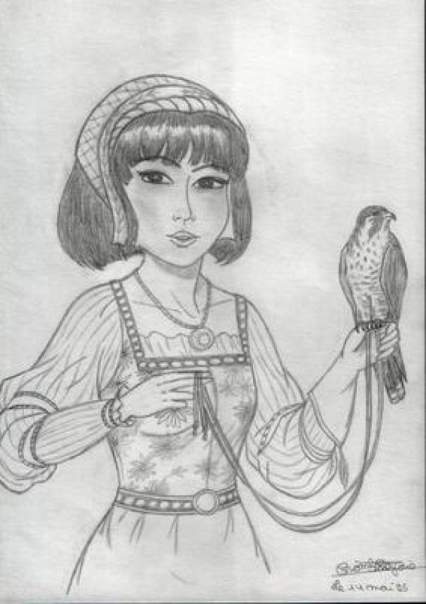 Beautiful Mama drawing