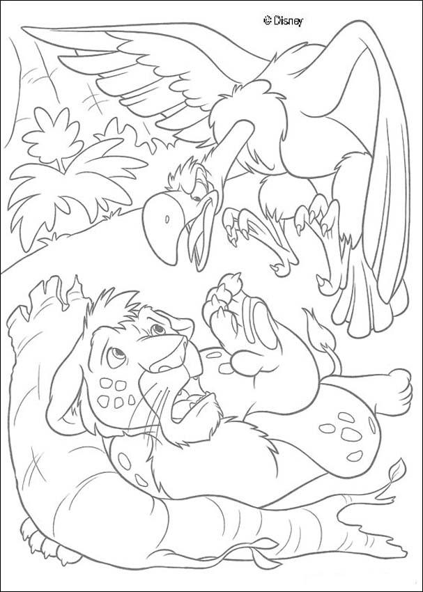the wild coloring pages - photo#26