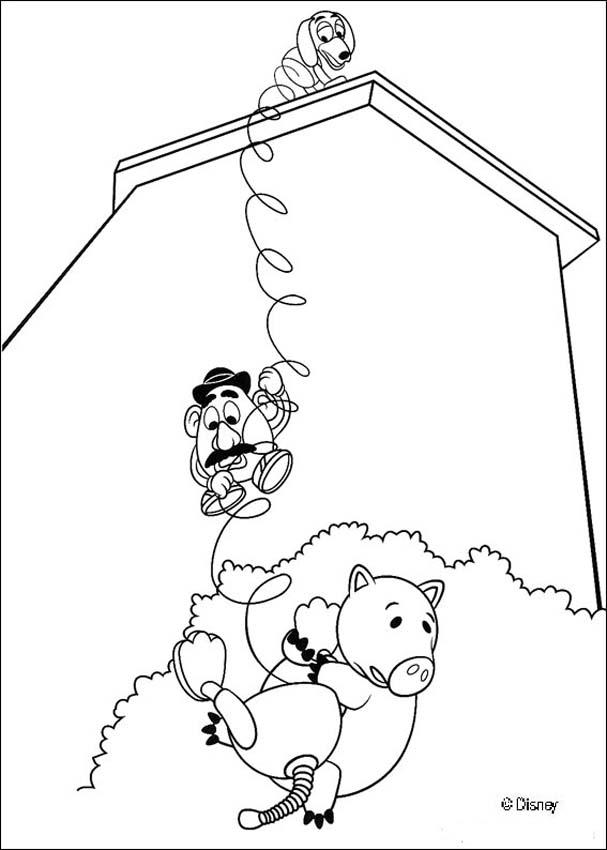 Toy Story 30 coloring page