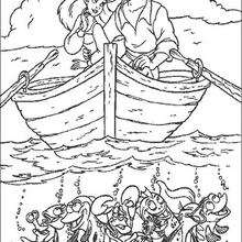 The Little Mermaid Coloring Pages 32 Free Disney Printables For Kids To Color Online