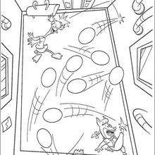 Chicken Little 12 - Coloring page - DISNEY coloring pages - Chicken Little coloring pages