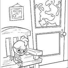Chicken Little 15 - Coloring page - DISNEY coloring pages - Chicken Little coloring pages